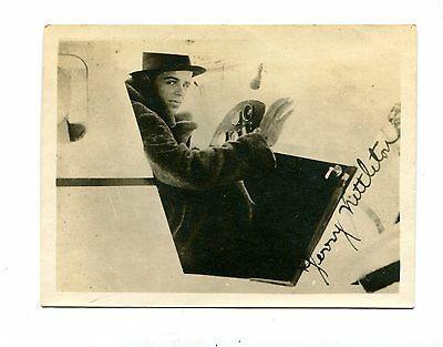 Vintage Photo early aviation JERRY NETTLETON  pilot
