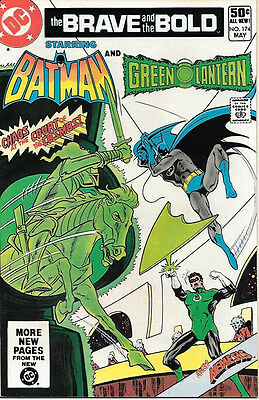 Brave and the Bold Comic Book #174 DC Batman and Green Lantern 1981 NEAR MINT