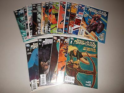 Green Arrow and Black Canary #1-19  VF/NM  (Full 2007 Series)