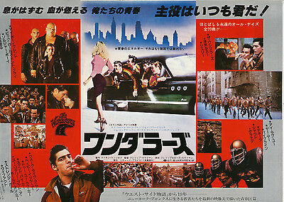 THE WANDERERS-1979 Japanese Movie Chirashi flyer(mini poster)