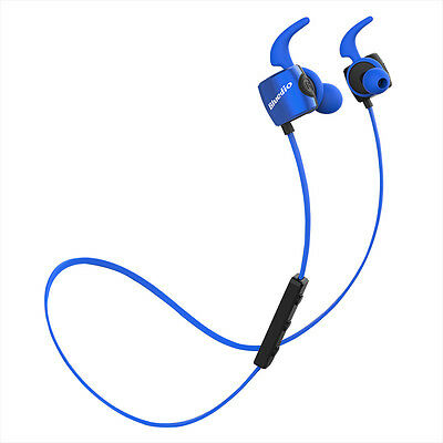 NEW BLUEDIO TE Bluetooth4.1 Wireless Sweatproof Sports Earphones iPhone Headsets