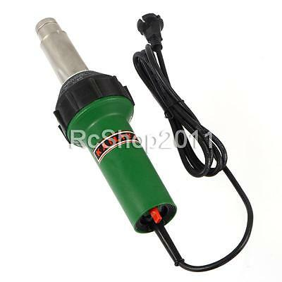 220V 1600W Hot Air Torch Plastic Welding Gun Welder Pistol with Rollder Brush US