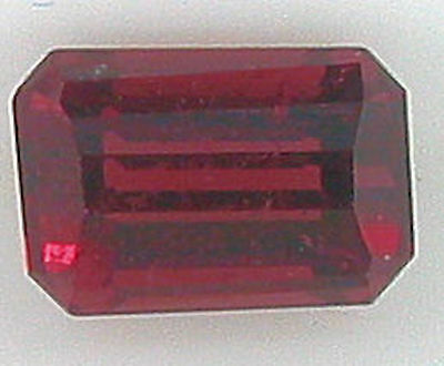 1.00ct PREMIUM GEM NATURAL RICH RASPBERRY RED RHODOLITE