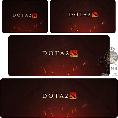 2017 DOTA2 Game logo stationery Large Mouse pad desk keyboard(Different sizes)