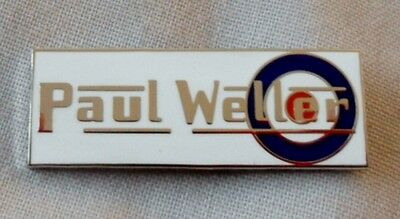 **NEW** Paul Weller Enamel Badge.The Jam,Oasis,Noel Gallagher,Mod.Lambretta