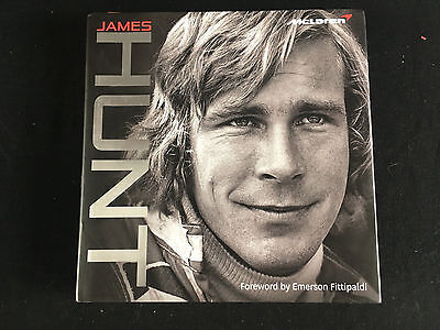 James Hunt by Maurice Hamilton, Fittipaldi, HB 1st Ed VGC, 40 Years McLaren