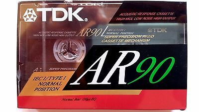 CASSETTE TAPE BLANK SEALED - 1x (one) TDK MA 60 (type IV) [1982] made in Japan