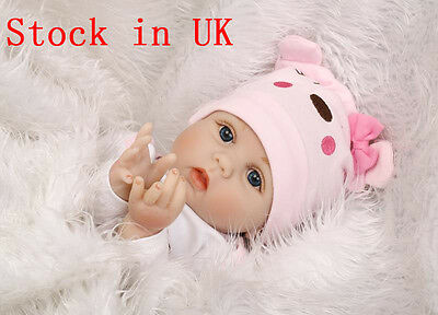 "22"" Reborn Baby Doll Realistic Newborn Doll Baby Playmate Christmas present Gift"