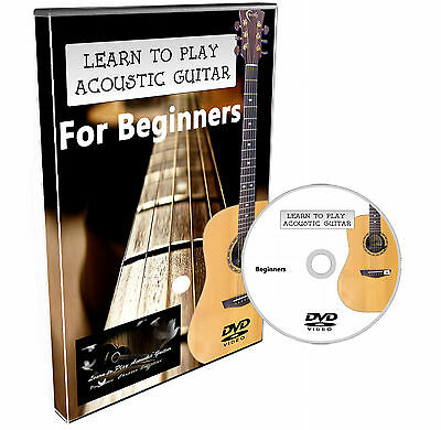 Learn to Play Acoustic Guitar Easy Step by Step DVD for Beginners Tune & Chords