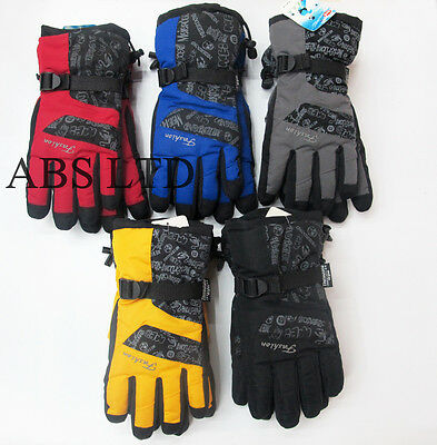Men and Women Winter Gloves Cycling Ski Snowboard Snow Thermal Waterproof Unisex