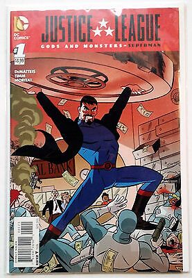 Justice League Gods and Monsters Superman #1 (2015) NM Darwyn Cooke 1:10 variant