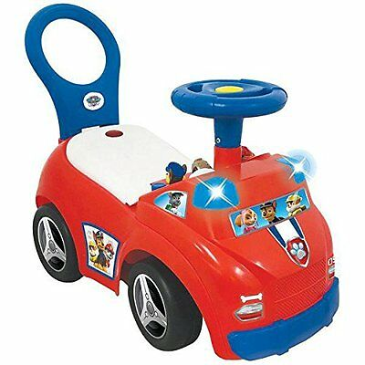 Paw Patrol Ride On Rescue Push Along Car Team Playset Lights Sounds Characters