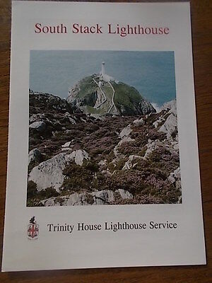 SOUTH STACK LIGHTHOUSE Trinity House Lighthouse Service Brochure Leaflet 4 pages