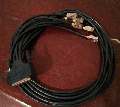 3 FT Cisco CAB-OCTAL-ASYNC Compatible Cable For Cisco 2509 2511 NM-16A & SERVER