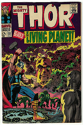 The Mighty Thor Vol. 1 - #133 | Ego the Living Planet Appearance | Marvel 1966