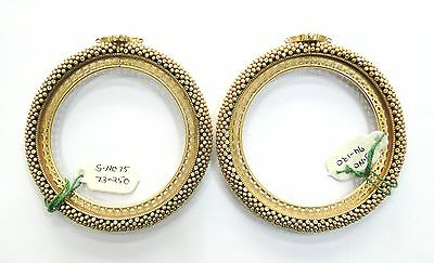 Rare! Ancient antique Collectible solid 22K Gold Jewelry Bracelet Bangle pair