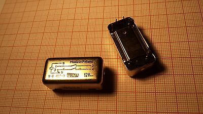 K-8 12V double reed relay switch - Made in Poland