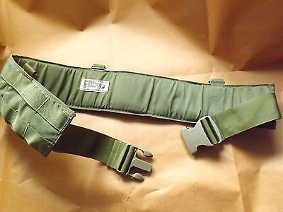 Padded war belt , made by EAGLE, GENUINE U.S.MILITARY ISSUE