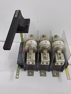 ELLISON Triple Pole 800Amp Panel SWITCH Disconnector WITH FUSES