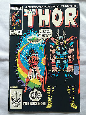 Thor - Vol 1 - # 336 Marvel Comics MODERN AGE