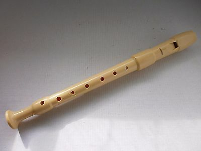 Vintage Old- HOHNER  Playable Musical Flute 7 Hole Whistle Recorder - Germany