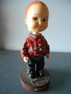 Collectible Advertising LEE DUNGAREES Blue Jeans Bobblehead/Nodder