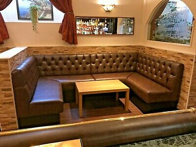 Bespoke Commercial Seating, Booth Seating, Banquet, Bench Seating, 100 Per Foot