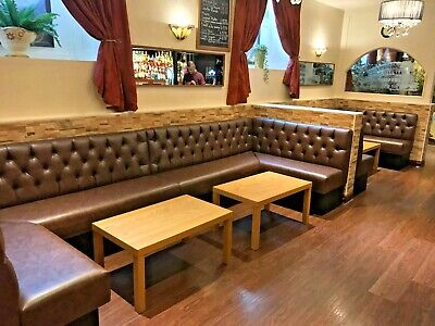 Bespoke Commercial Seating, Booth Seating, Banquet, Bench Seating, £110 Per Foot