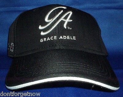 BN COLLECTIBLE GRACE ADELE (SCENTSY) BLACK EMBROIDERED BASEBALL HAT CAP FreeShip
