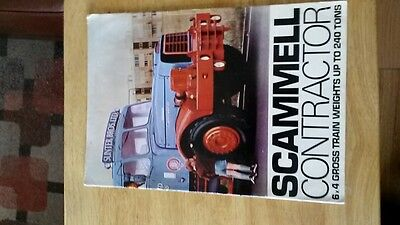 Scammell Contractor 240 Ton Brochure.
