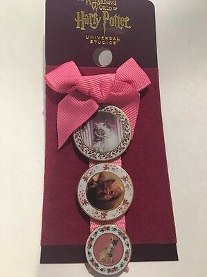 Wizarding World of Harry Potter Umbridge Cat Plates Pin