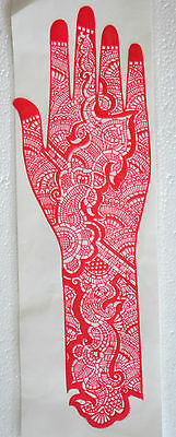 Bridal Henna Stencil. Perfect for your wedding day, henna made simple. UK Seller