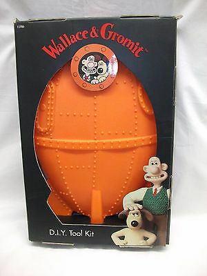 Vintage Collectible Wallace & Gromit DIY Tool Kit