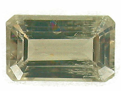 Stunning Emerald Cut 1.36 Carat Color Change Diaspore