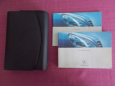 Mercedes-Benz S-Class (2002 - 2005) Owners Manual - Guide - Handbook. (Me 288)