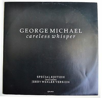 """George Michael Careless Whisper Rare 1984 UK 'Special Edition' 3-track 12"""""""