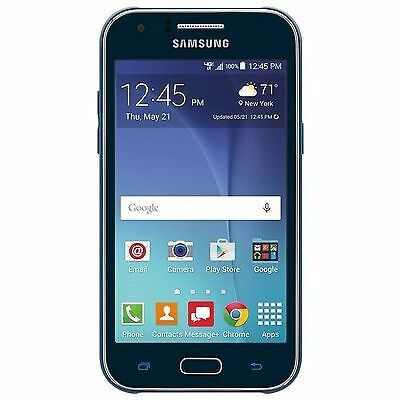Samsung Galaxy J1 - 8GB - Blue (Verizon) Prepaid Smartphone Brand New USA TRAVEL