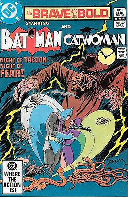 Brave and the Bold Comic Book #197 DC Batman and Catwoman 1983 NEAR MINT