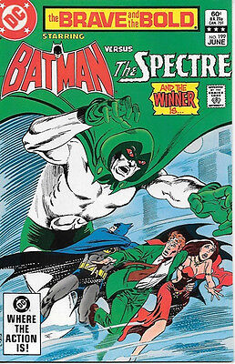 Brave and the Bold Comic Book #199 DC Batman and The Spectre 1983 NEAR MINT