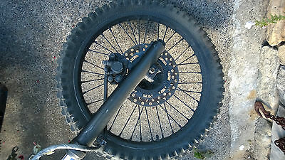 Yamaha TT600 Front Forks And Tripple Tree