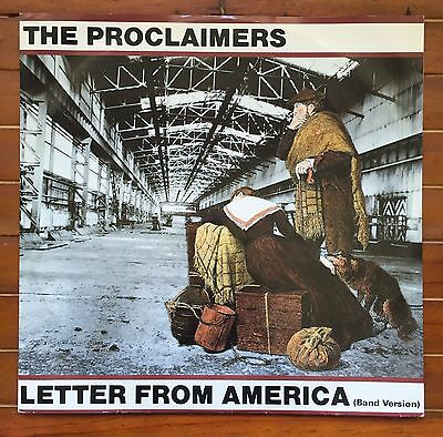 """The Proclaimers Letter From America 5 Track 12"""" Ep 45Rpm"""