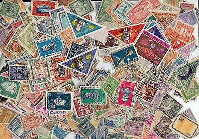 Paraguay 450 Different Unusual Key Values $$ Valuable Postally Used Stamps