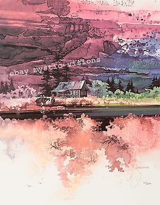 Michael Atkinson SECLUDED VALLEY  Signed & Numbered Limited Edition w/coa Art