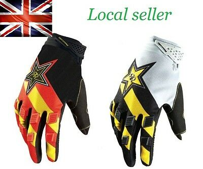 New Design Rockstar Foxes Gloves For Cycling, Motor Bike, Fishing, Outdoor