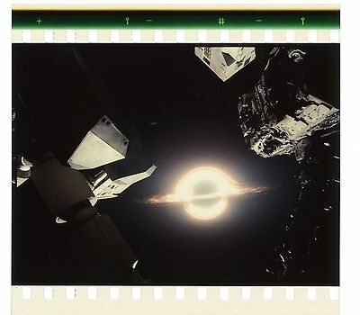 Interstellar 70mm IMAX Film Cell - Damaged Endurance Approaches Goliath (1224)