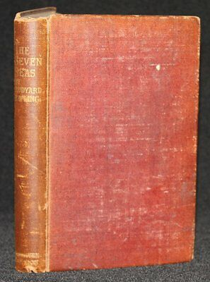 Rudyard Kipling - The Seven Seas, Methuen and Co., first edition, 1896