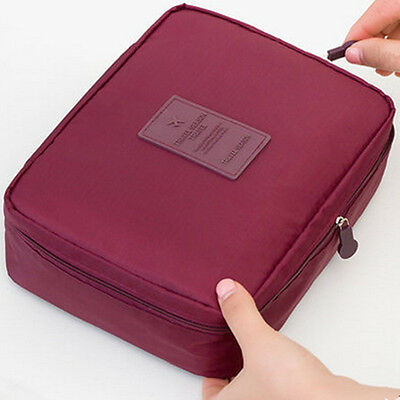 Travel Makeup Bag Cosmetic Toiletry Case Organizer Storage Pouch Hanging Bag