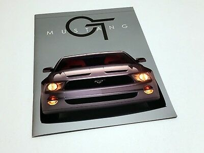2005 Detroit Auto Show NAIAS Ford Mustang GT Concept Press Kit Brochure