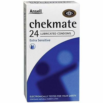 * Ansell Chekmate Extra Sensitive Lubricated Condom