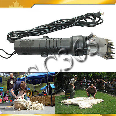 320W 110V Electric Sheep-shearer  Clippers Shaver Goats Sheep Shears For Farm